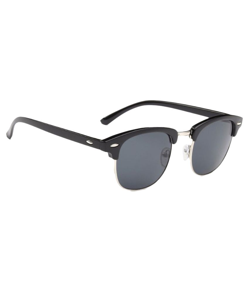 4bbf76f91785 Poloport Black Clubmaster Sunglasses - Buy Poloport Black Clubmaster  Sunglasses Online at Low Price - Snapdeal