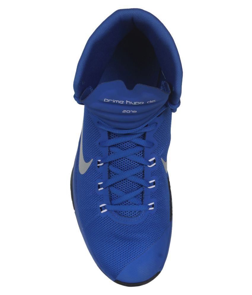 new arrival 0b229 4b218 Nike Prime Hype Df 2016 Blue Basketball Shoes