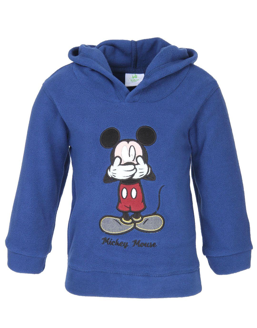 Fox Navy Sweatshirt for Girls