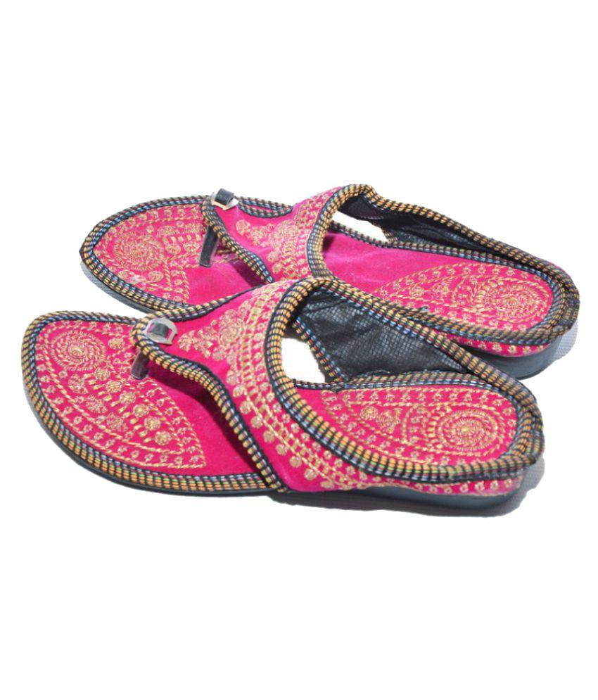 The Rajasthali Pink Flat Flats