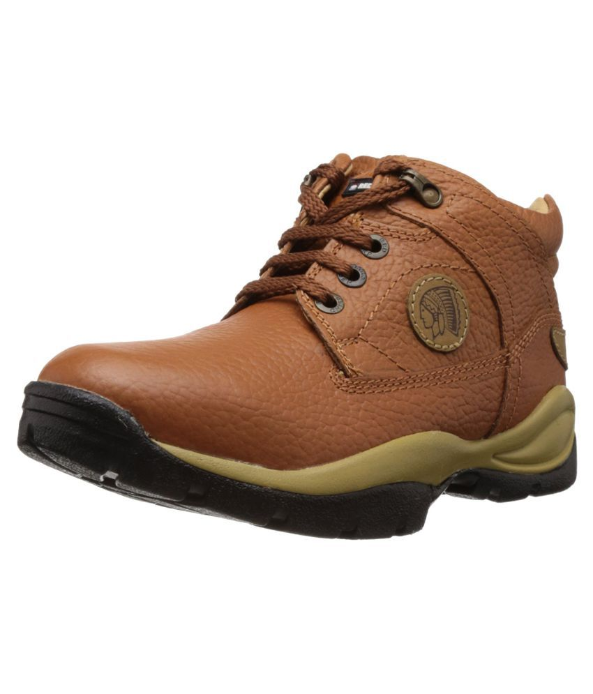 Red Chief Outdoor Tan Casual Shoes