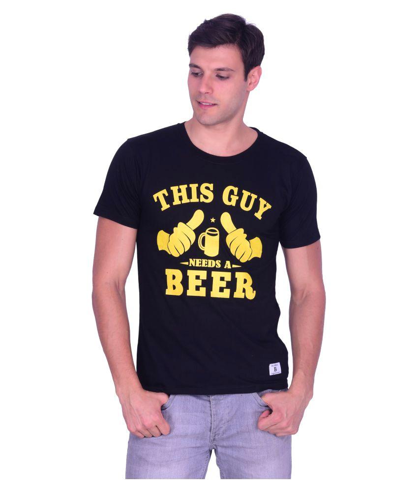 Burbn Black Round T-Shirt