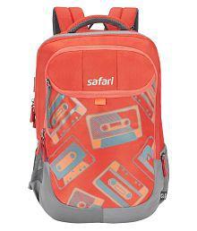 Safari Cassettes Rust Backpack