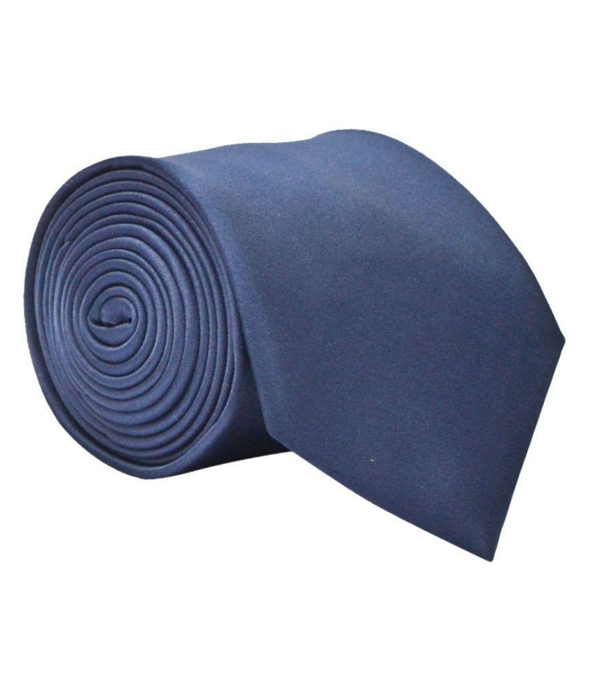 Calvadoss Blue Formal Necktie