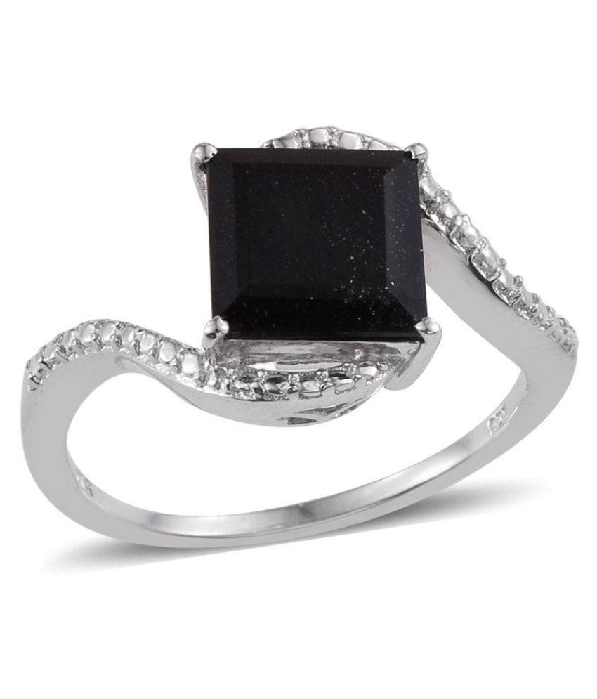 Vaibhav 92.5 Silver Tourmaline Ring