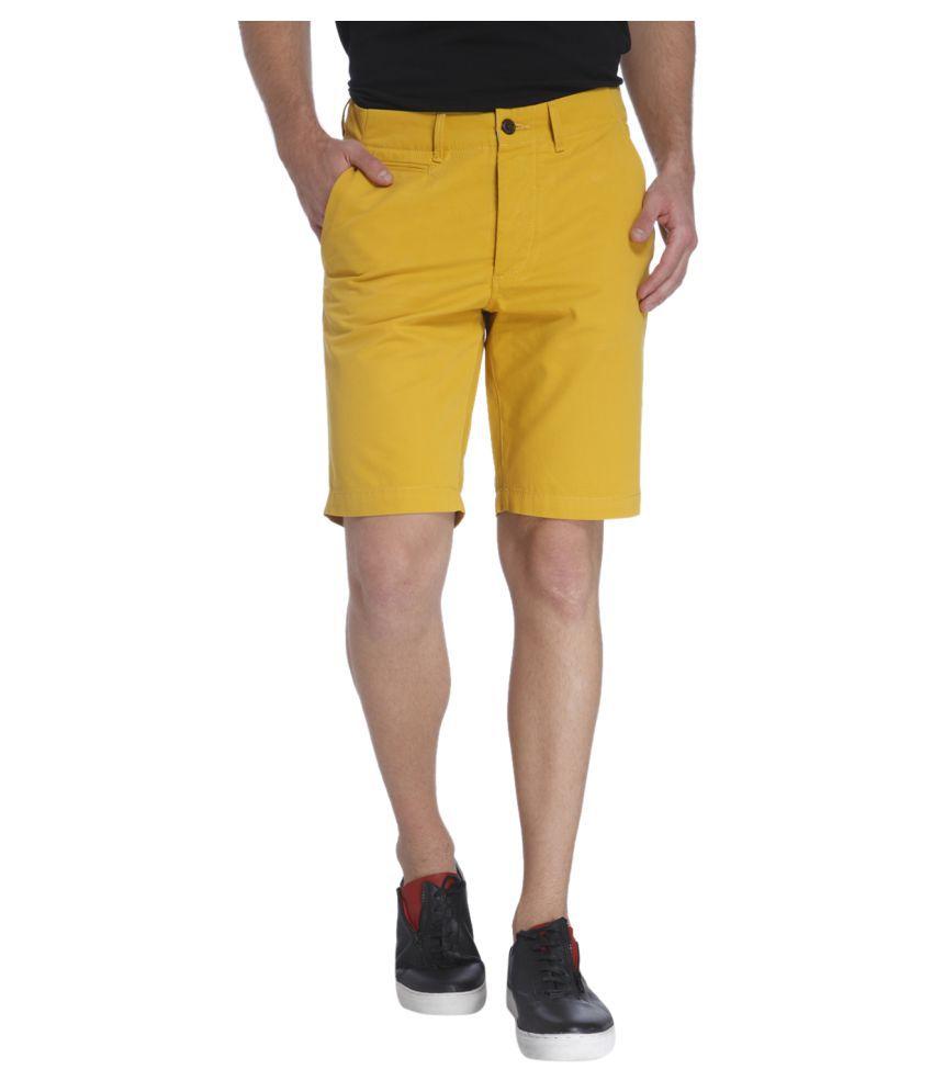 Jack & Jones Yellow Shorts
