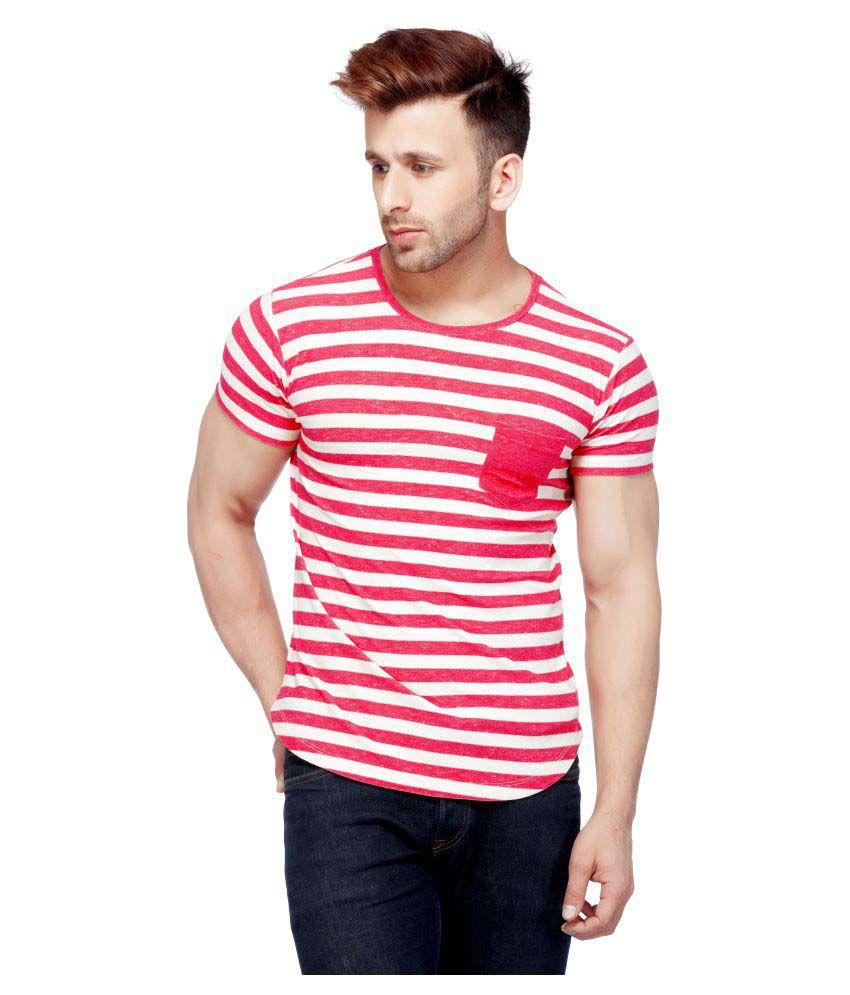 Tinted Multi Round T-Shirt