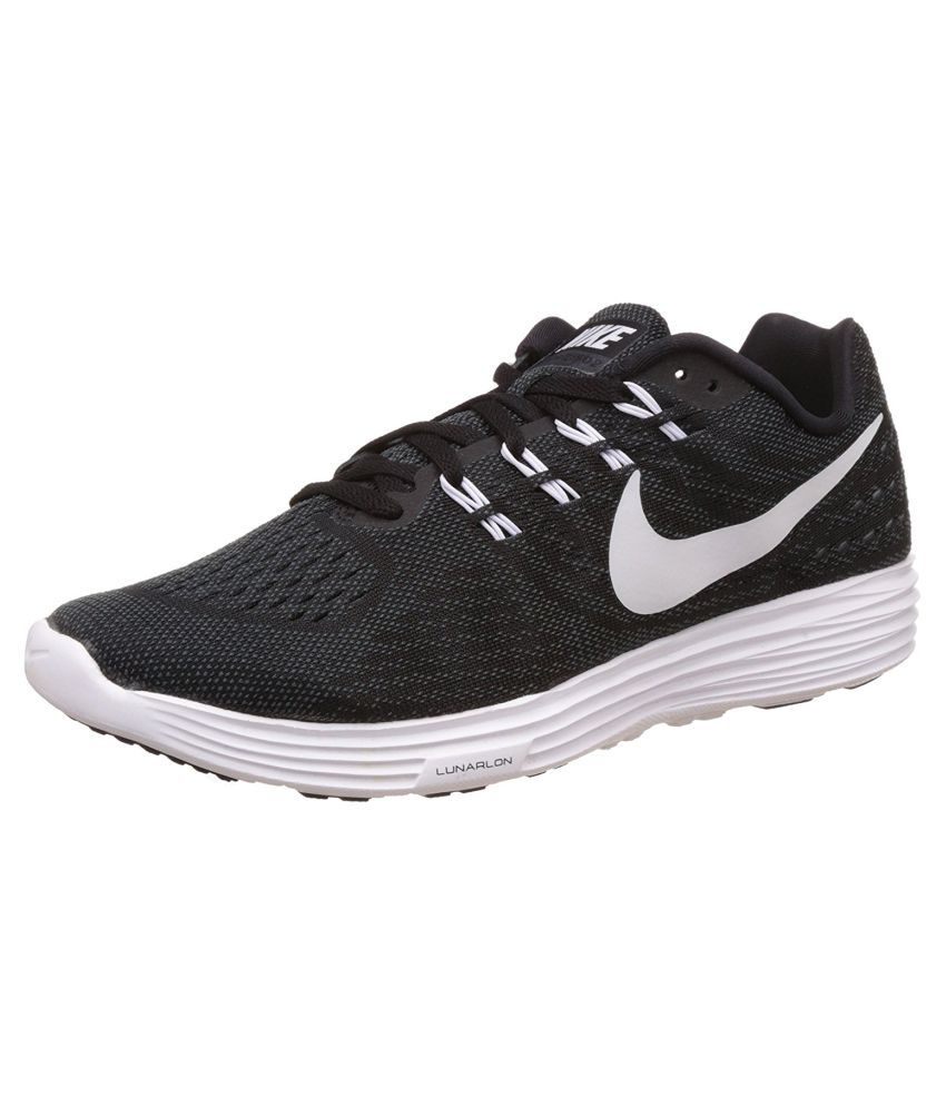 quality design e4352 32847 Nike Lunar Tempo 2 Black Running Shoes - Buy Nike Lunar Tempo 2 Black  Running Shoes Online at Best Prices in India on Snapdeal