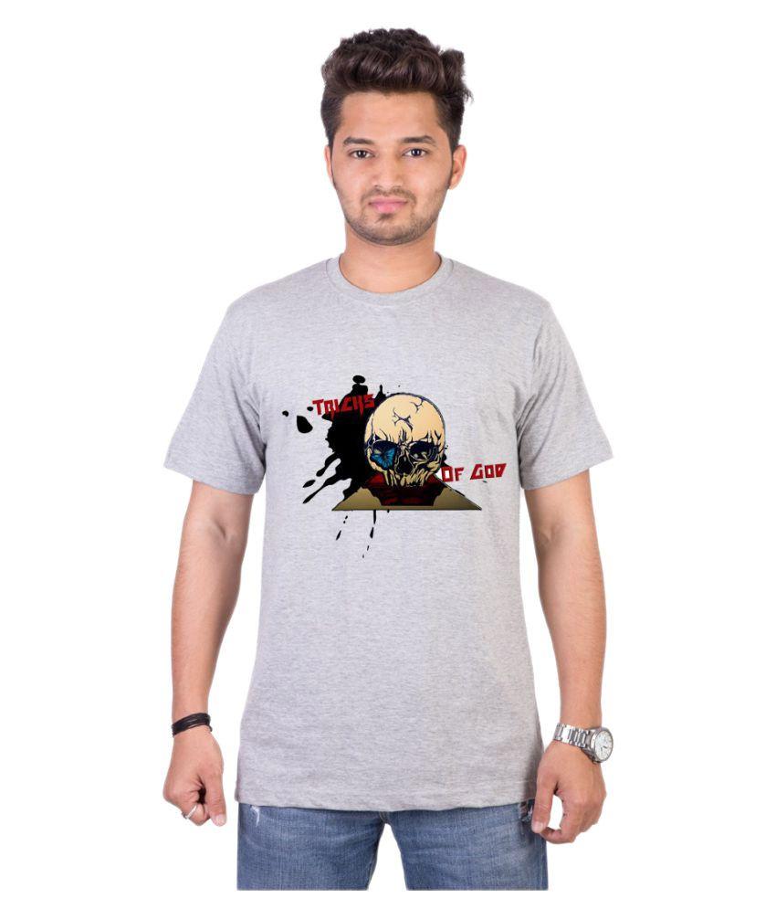 Adima Grey Round T-Shirt