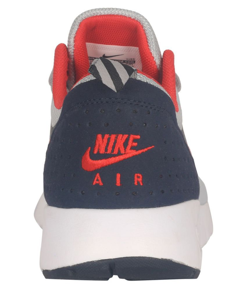 half off 42184 f19a0 ... Nike Air Max Tavas Red Running Shoes ...
