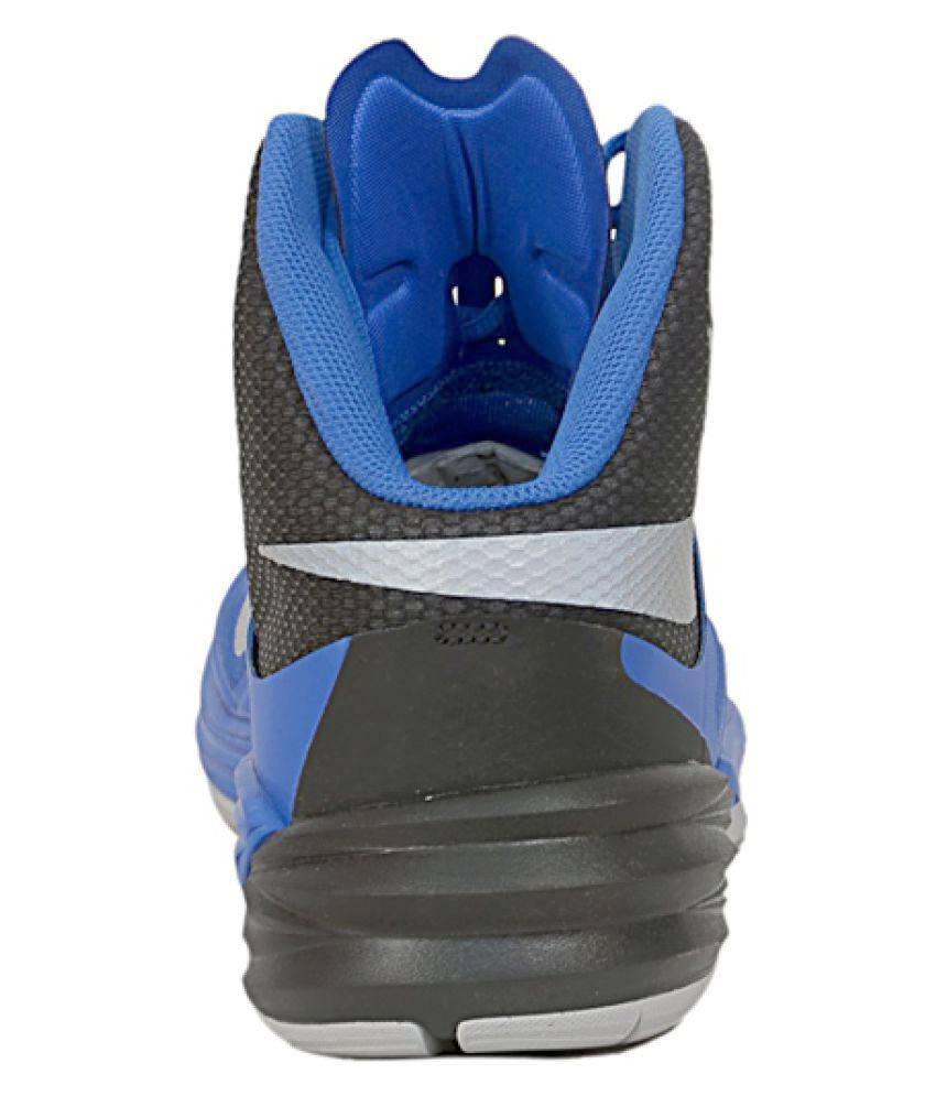... Nike Prime Hype DF 2 Blue Basketball Shoes ...