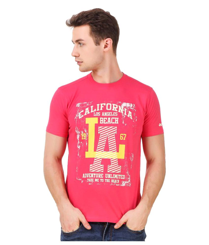 Spunk Pink Round T-Shirt