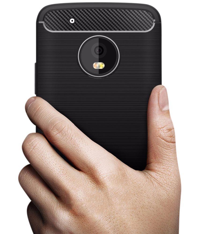 buy online 5db52 9479e Moto G5 Plus Plain Cases Noise - Black