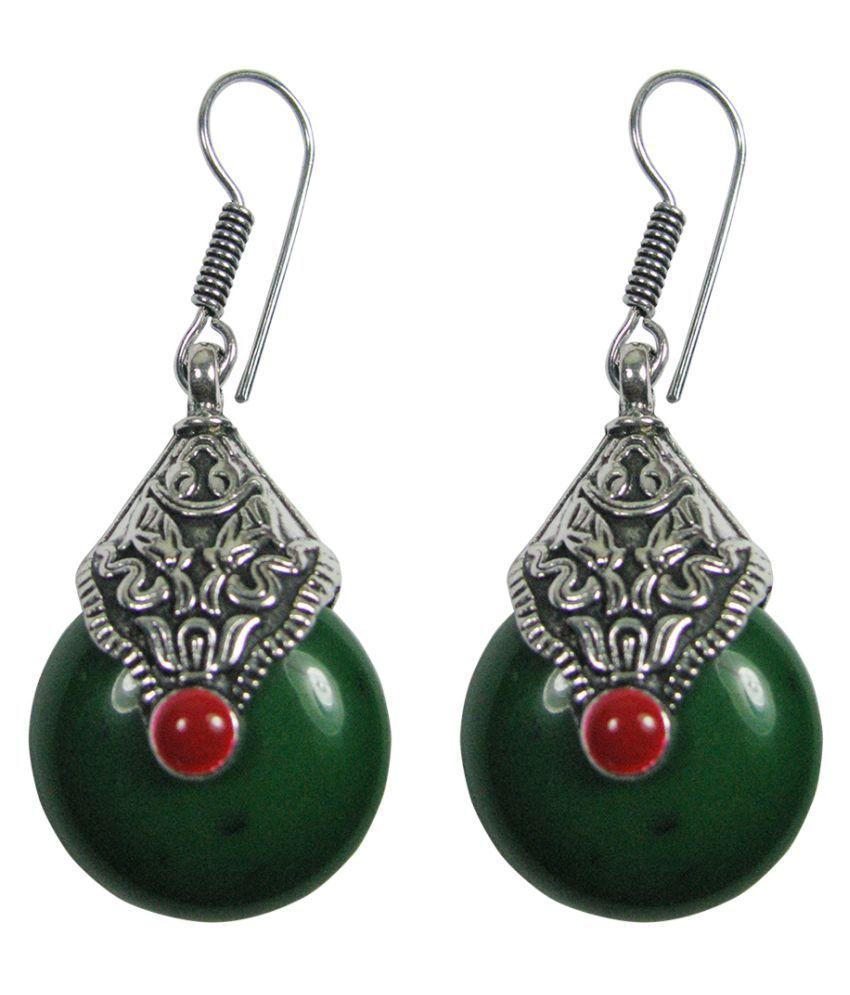 Collana German Silver Designer Light Weight Earrings