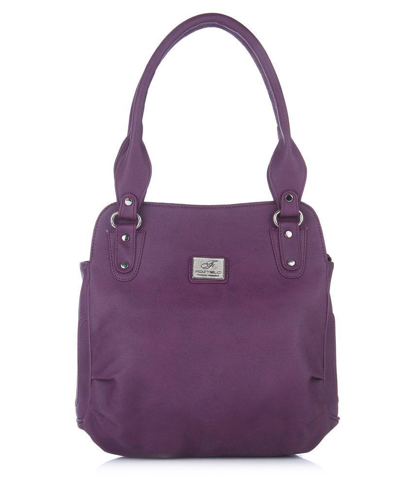 Fostelo Purple P.U. Handheld