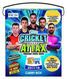 Topps Cricket Attax IPL CA 2017 50's Multicolour Card Game