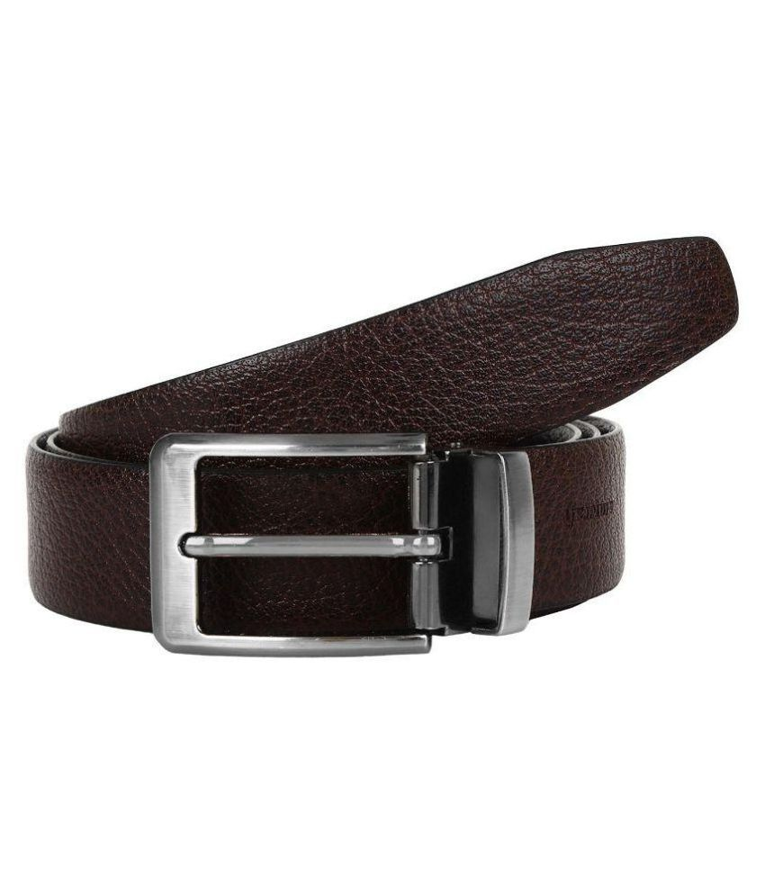 Amicraft Brown Leather Formal Belts