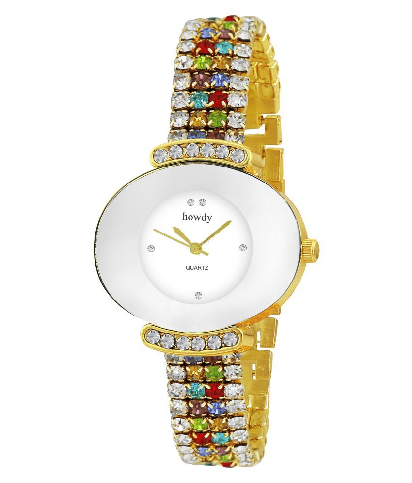 Howdy Multicolor Analog Watch