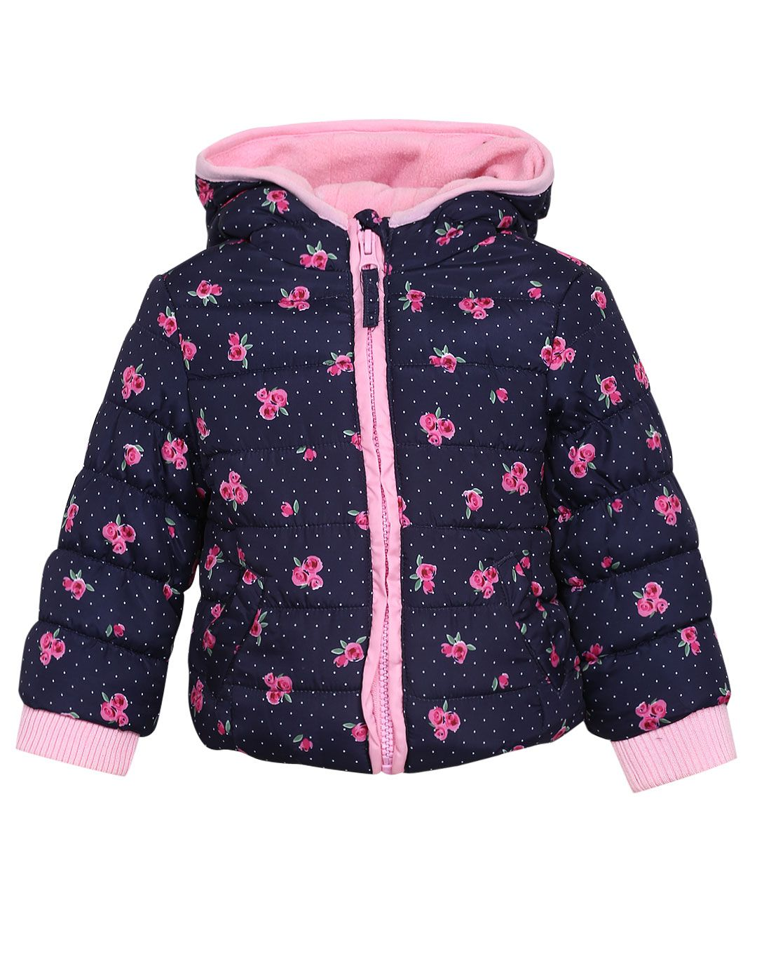 Mothercare Girls Navy Jacket