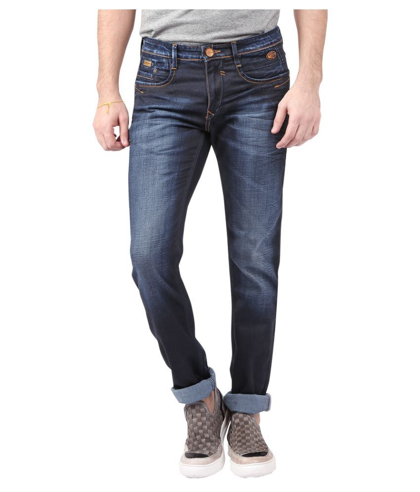 Nostrum Jeans Dark Blue Slim Jeans