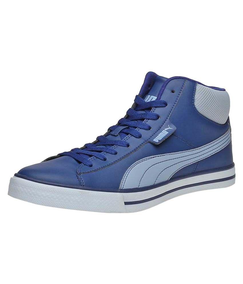 puma mens blue casual shoes buy puma mens blue casual