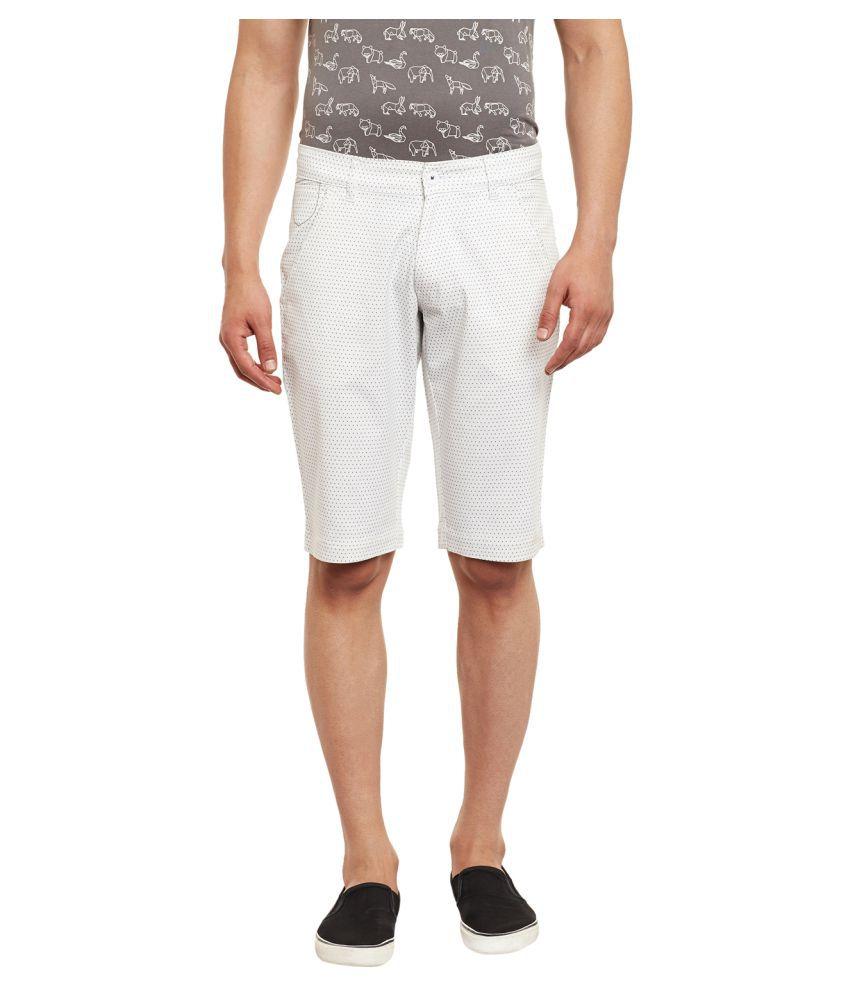 Canary London White Shorts