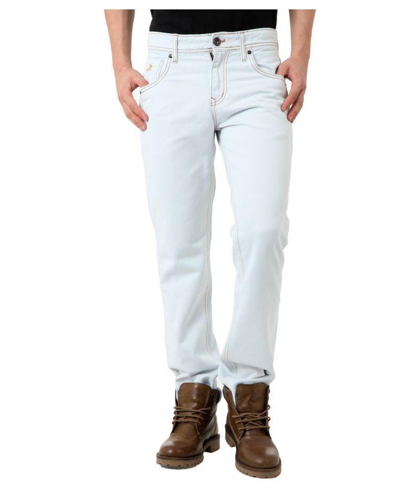 Roman Island Blue Slim Jeans