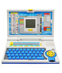 Gurukripa Plastics Educational English Learning Screen Laptop Toy Computer With Mouse For Kids