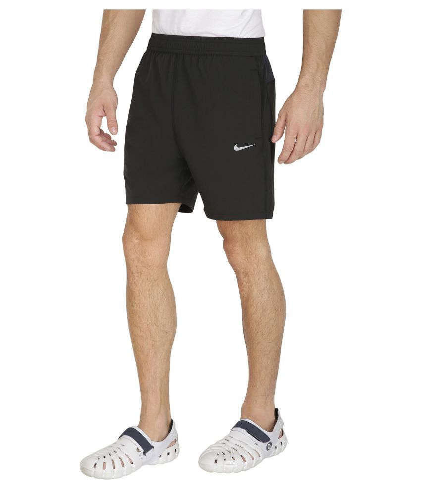 aed4b02dbb1 Nike Black Polyester Lycra Shorts