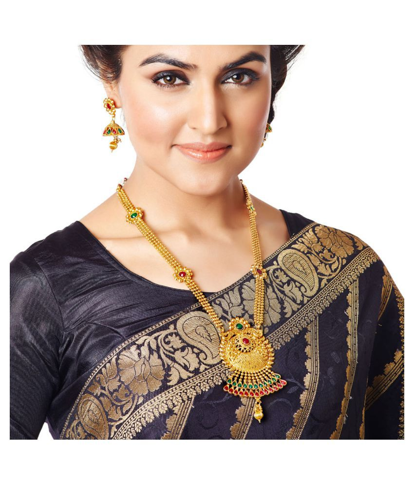 RG Fashions Multicolour Necklace Set