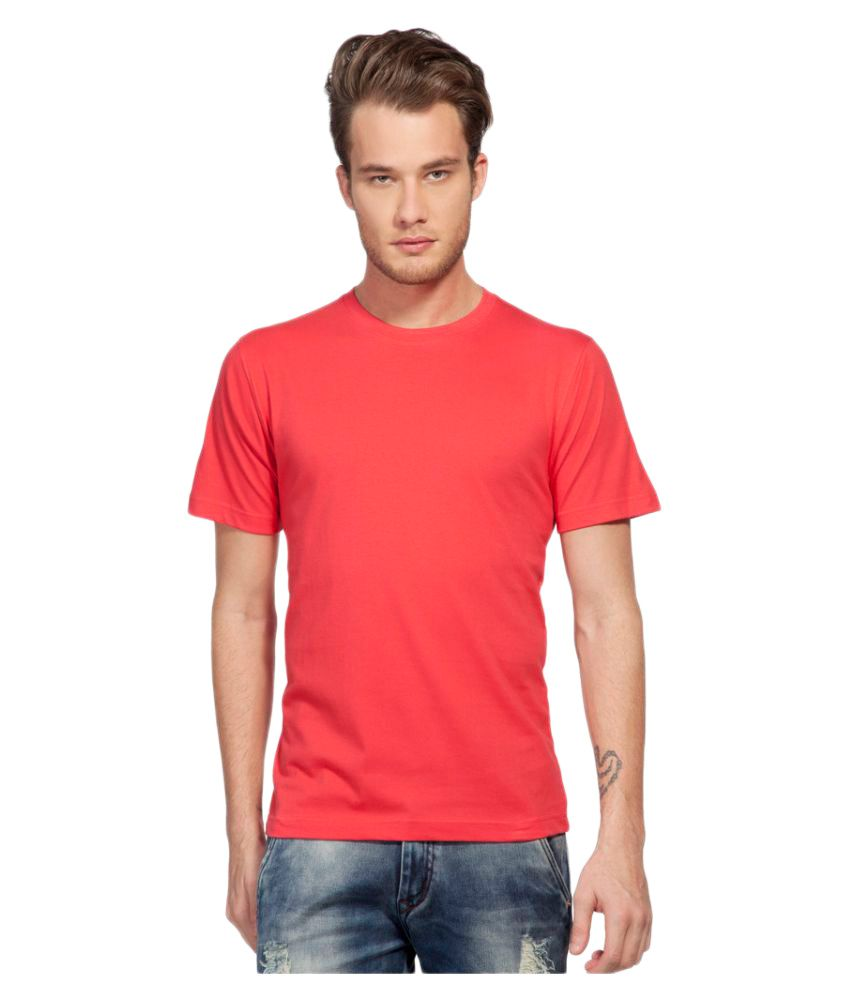Clifton Red Round T-Shirt