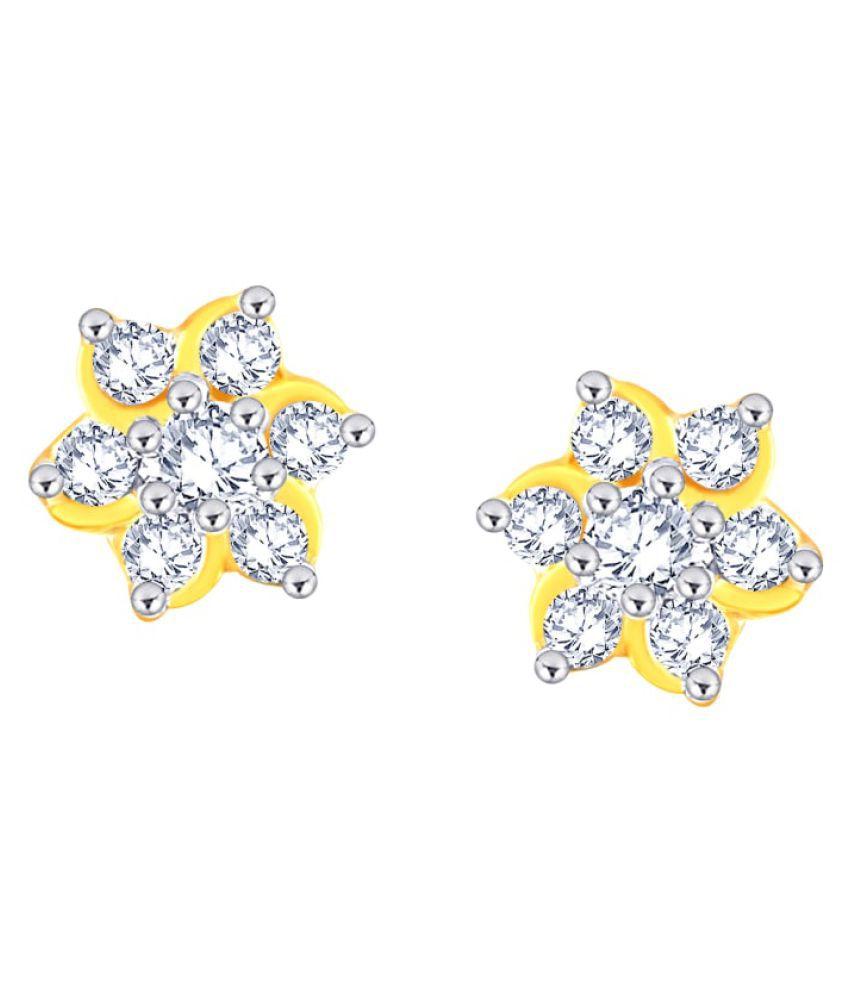Nakshatra 18k BIS Hallmarked Gold Diamond Studs