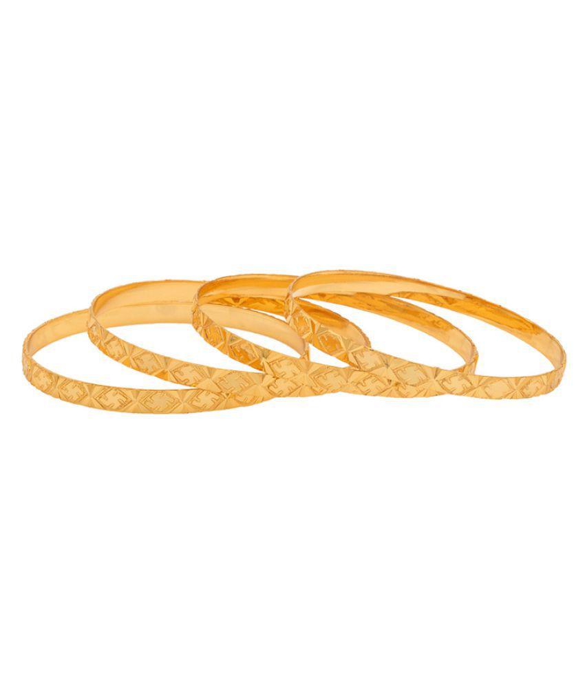 Navrang Golden Bangles for Women