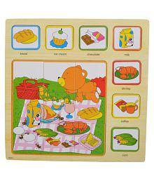 Sri Food Puzzle Board