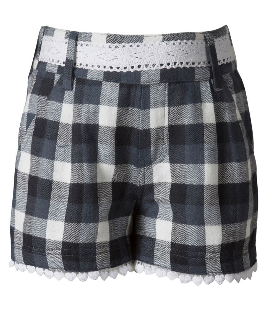 Naughty Ninos Multicolour Cotton Hot Pants