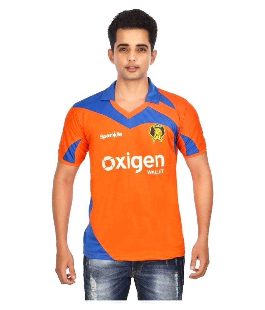 Focil Orange Polyester T-Shirt Single Pack