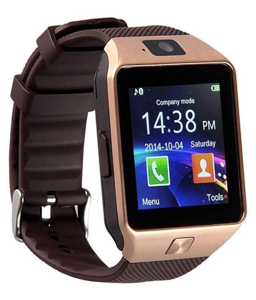 Mizco DZ09 Smart Watches Brown
