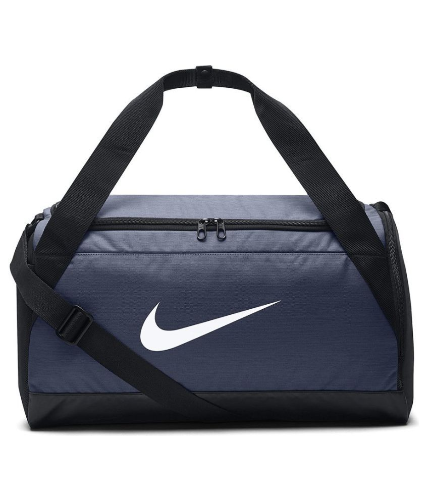 Gym Bag Flipkart: Nike Blue Solid Duffle Bag Available At SnapDeal For Rs.1858