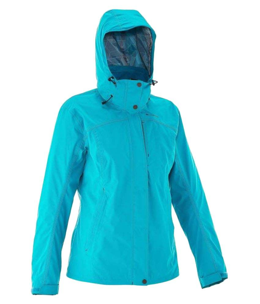 Quechua Blue Hiking 3 in 1 Jacket for Women's