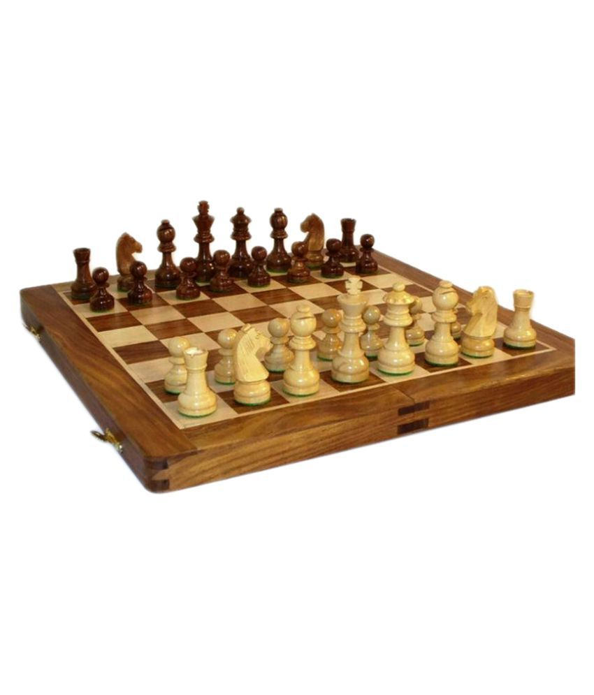 CRUZ INTERNATIONAL Wooden Multicolor Chess XXL