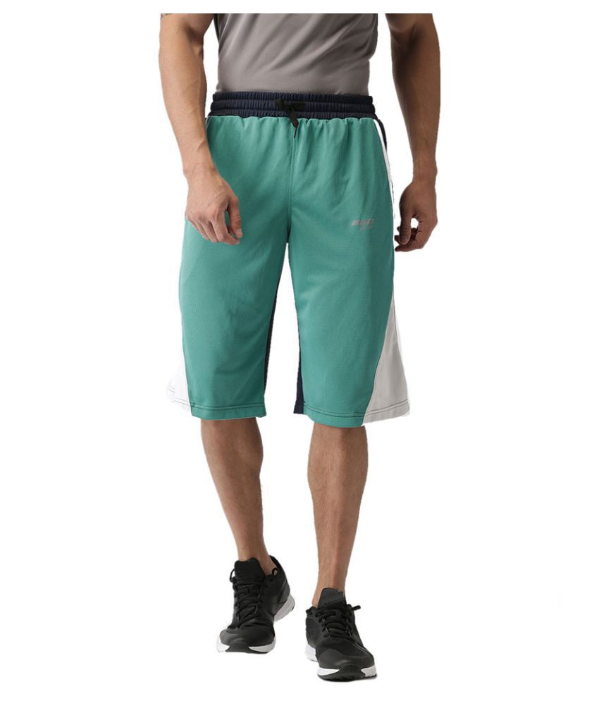 2GO Turquoise Basket Ball Shorts