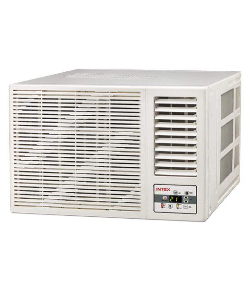 Intex 1 ton 3 star wa12cu3ed window air conditioner price for 1 ton window ac