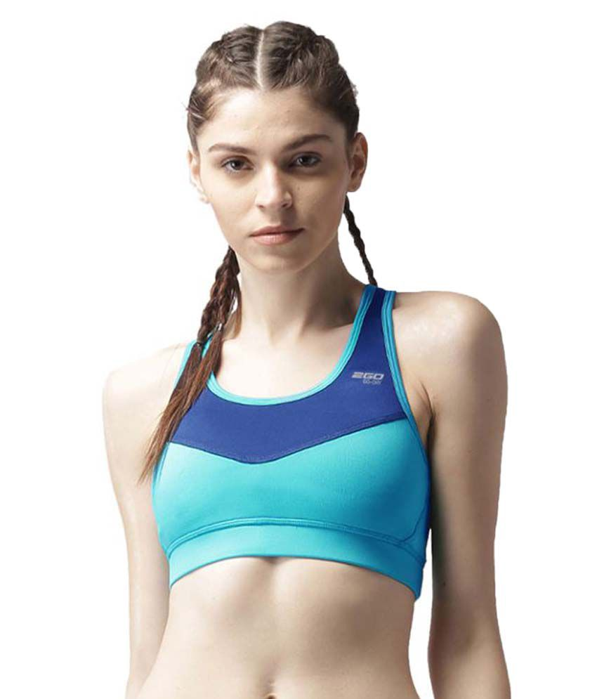 2GO Turquoise Classic Padded Sports Bra