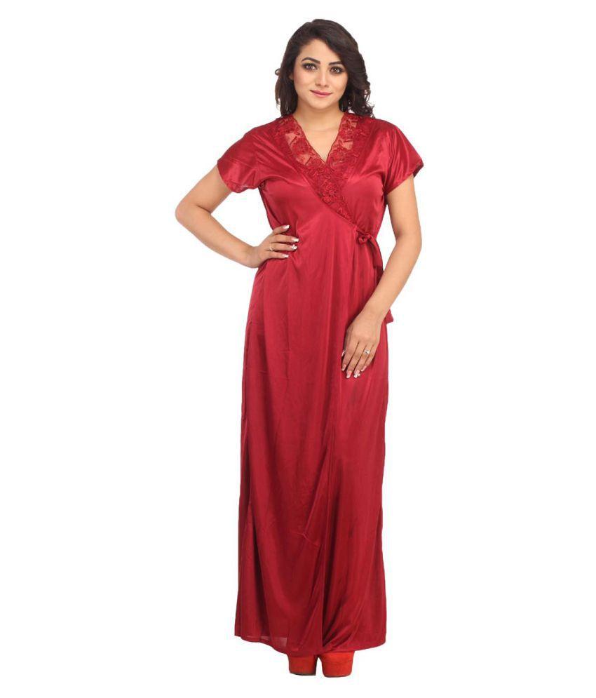 Shree Sai Traders Lycra Nighty & Night Gowns