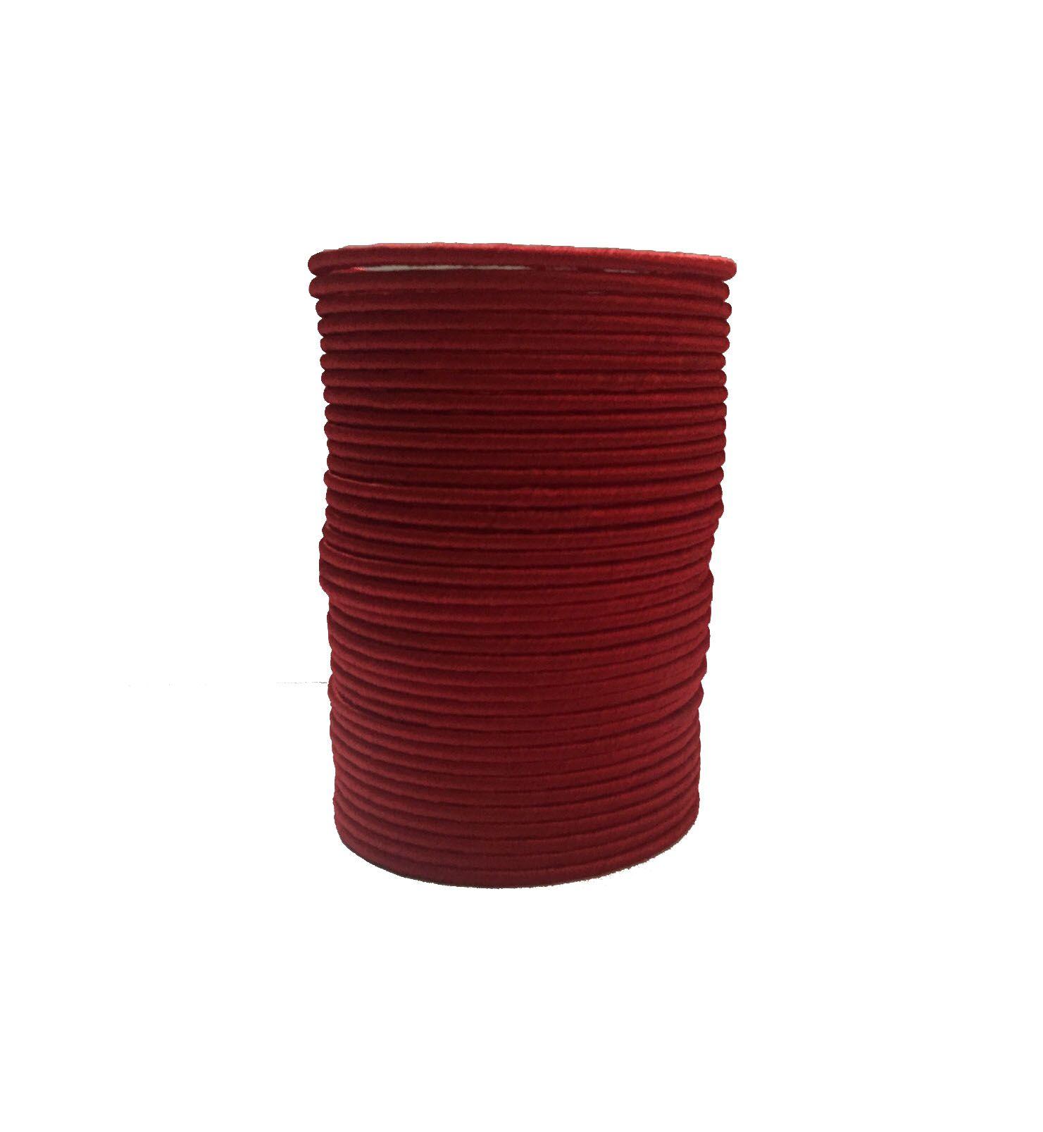 Thirsty Guys Red Silk Thread Plastic Bangle for Women