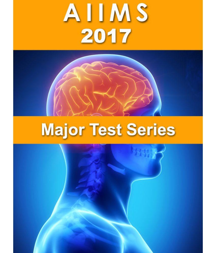 AIIMS - Major Online Test Series- 2017: Buy AIIMS - Major Online ...