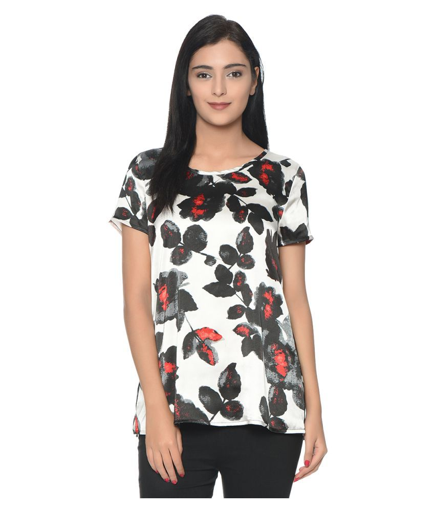 fa7cce116d96 Bgs Satin Regular Tops - Buy Bgs Satin Regular Tops Online at Best Prices  in India on Snapdeal