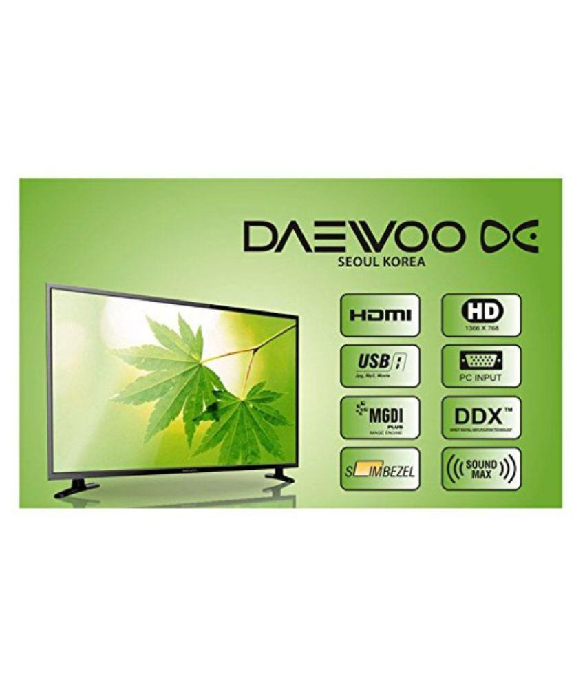 Buy Daewoo L32S655 80 cm ( 31.5 ) HD Ready LED Television Online at