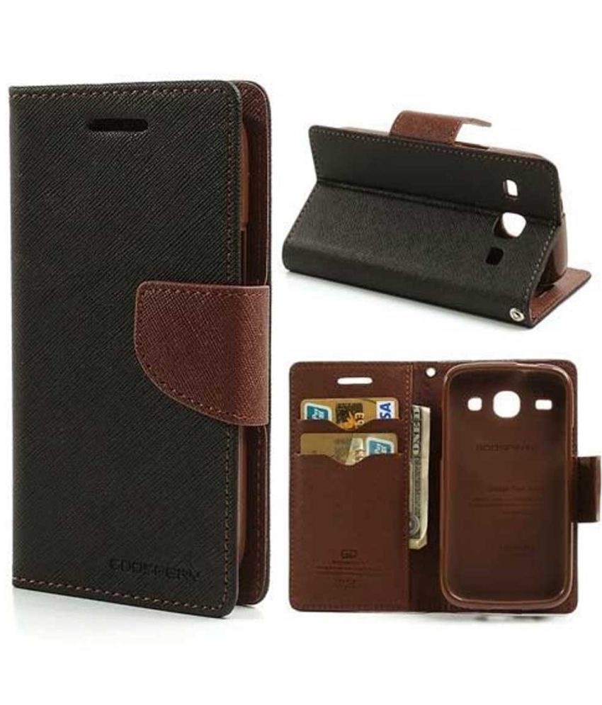 timeless design 1b12e 8012b Vivo Y53 Flip Cover by TBZ - Brown