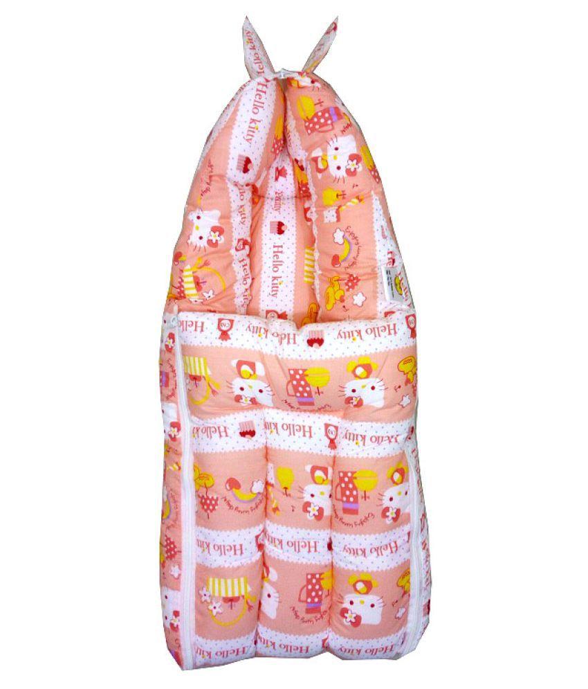 Calibr Orange Cotton Sleeping Bags ( 60 cm × 35 cm)